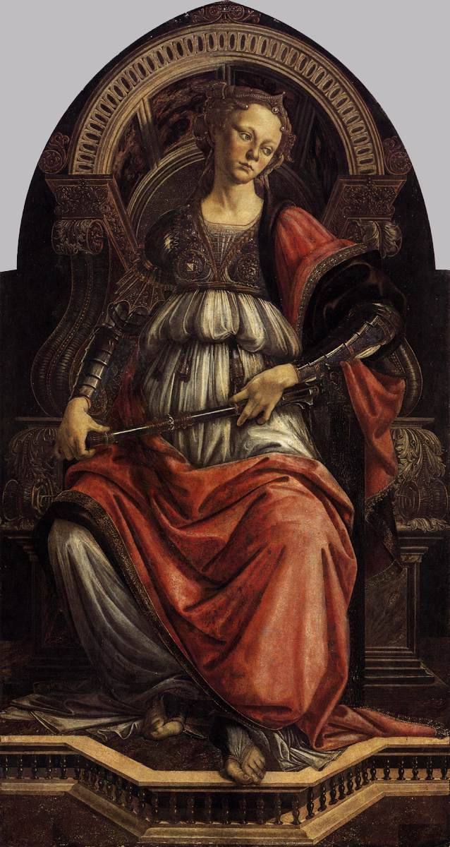 La fortaleza (Sandro Botticelli, 1470)
