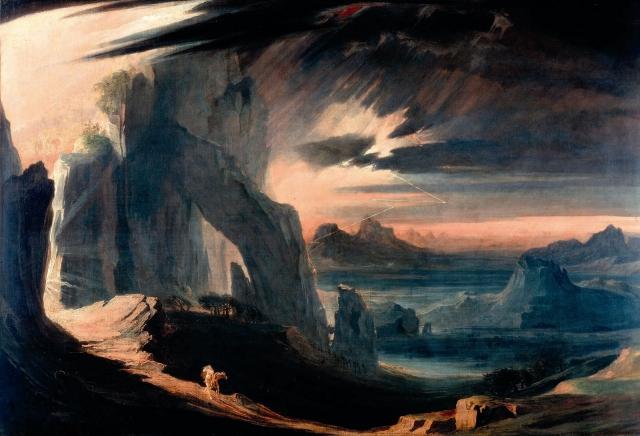 Expulsión de Adán y Eva del Paraíso, 1813