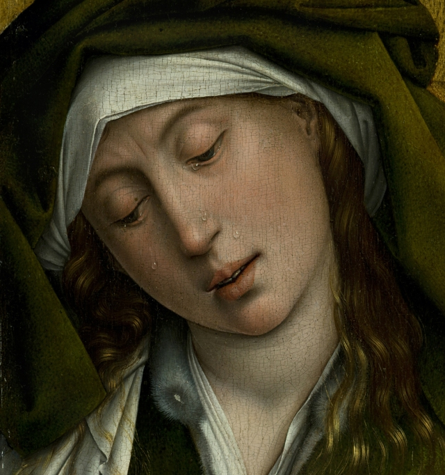 Descendimiento, de Roger van der Weyden, c. 1435 (detalle)-2