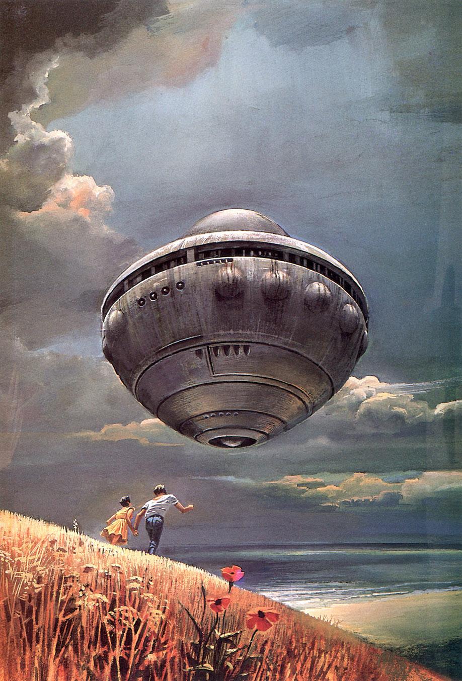 Bruce Pennington, ilustrador de ciencia ficción | La balsa de la ...